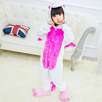 Детский Костюм Кигуруми, Пижама кингуруми Единорог с крыльями для детей на взрослых детские пижамы для сна