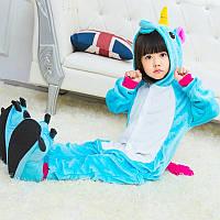 Детский Карнавальный Костюм Кигуруми , Пижама кингуруми Единорог для детей на взрослых детские пижамы для сна