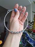 Чокер серебряный ′Лабрадор′, фото 6
