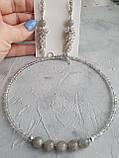 Чокер серебряный ′Лабрадор′, фото 7