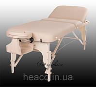 Складной массажный стол переносной чемодан HAN массажная кушетка регулируемая конструкция натуральное дерево