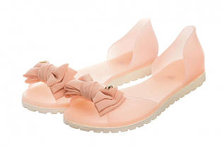 Жіночі балетки Rubbe 40 Nude pink