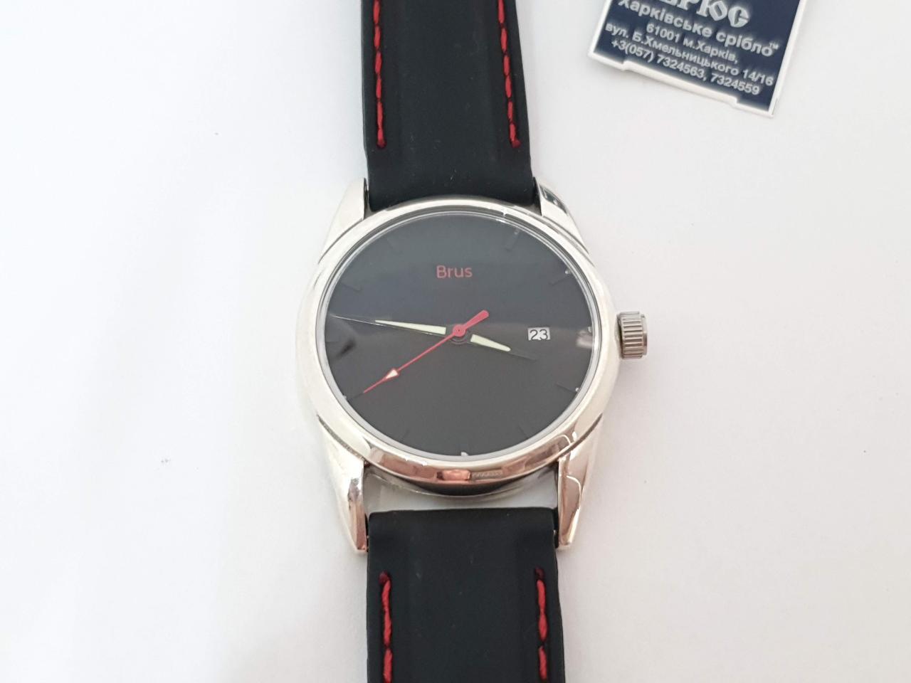 Серебряные часы. Артикул 7100059