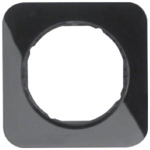 Рамка 1-ная стекло/чёрный Berker R.1
