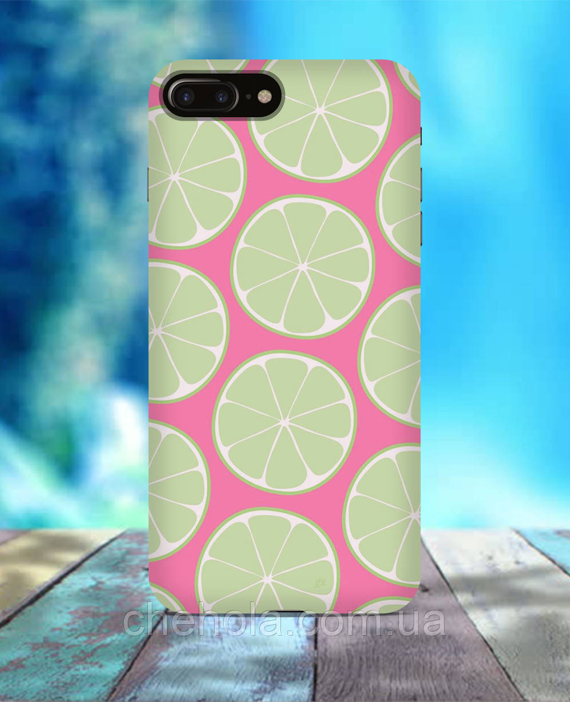 Чехол для iPhone 7 8 7 Plus 8 Plus Лимоны коктейль лето