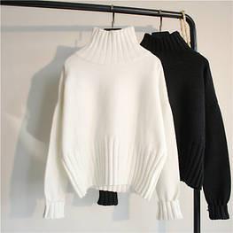 Женский вязанный пуловер. Модель 54345