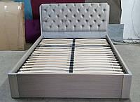 Кровать Стефани с подъемным механизмом из массива ясеня, фото 1