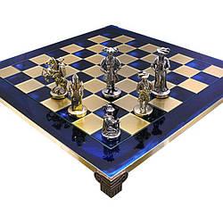 """Шахматы мушкетеры """"Manopoulos"""" синие"""