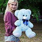 Плюшеві ведмеді Плюшевий ведмедик 1 МЕТР, Рожевий, фото 2