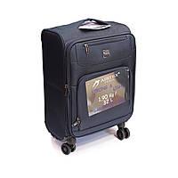 Малый тканевый чемодан на 4-х кол Airtex 850 синий, фото 1