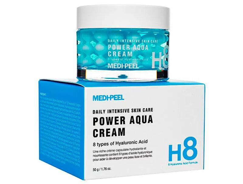 Капсульний крем в кульках для зволоження шкіри Medi-peel Aqua Blue Tox Cream