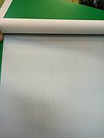 Рулонная штора лен белый 0,75х180, фото 1