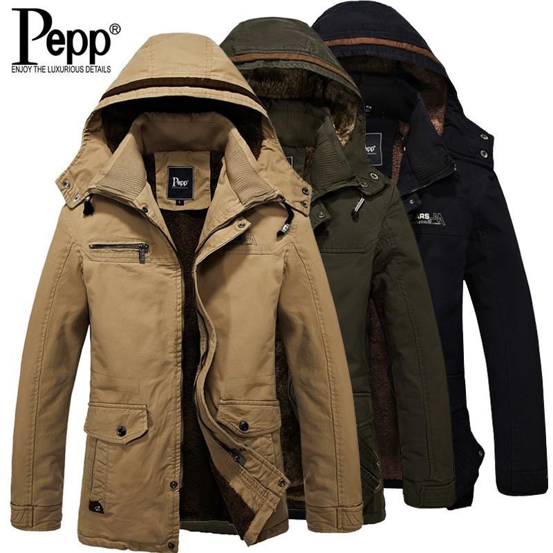 Мужское зимнее пальто. Модель М27-1.