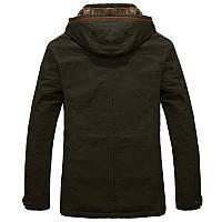 Мужское зимнее пальто. Модель М27-1., фото 7