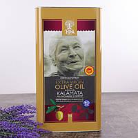 Оливковое масло 5 л Extra Virgin Kalamata HPA Греция OIL-0427-5
