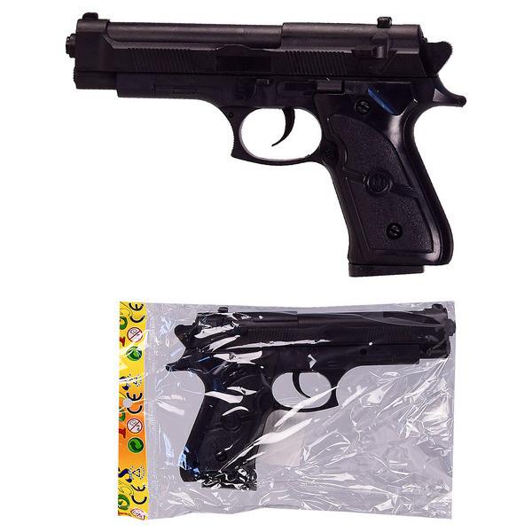 Пистолет на пульках 468-2 размер 18 см. pro
