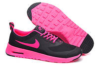 Кроссовки женские Nike Air Max Thea (в стиле найк аир макс) черные, фото 1