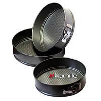 Набор из трех разъемных форм для выпечки Kamille 6000