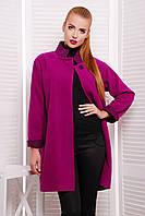 Роскошное женское пальто оверсайз из шерсти, фото 1