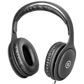 Навушники Defender Tune 125 black+мікрофон 2м