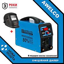 Зварювальний інвертор з цифровим дисплеєм / PRO 250 AWELCO 52917RRU (Італія) + В подарунок маска хамелеон!
