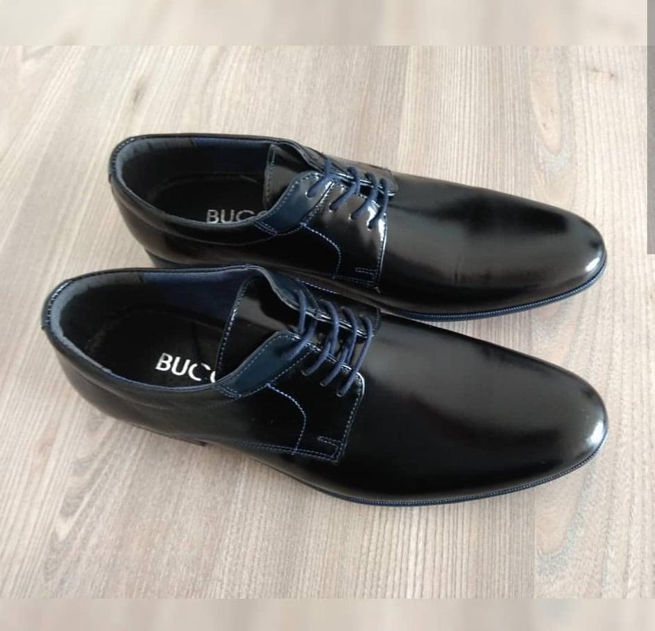 Туфлі чорні Bucci - 43,5 розмір