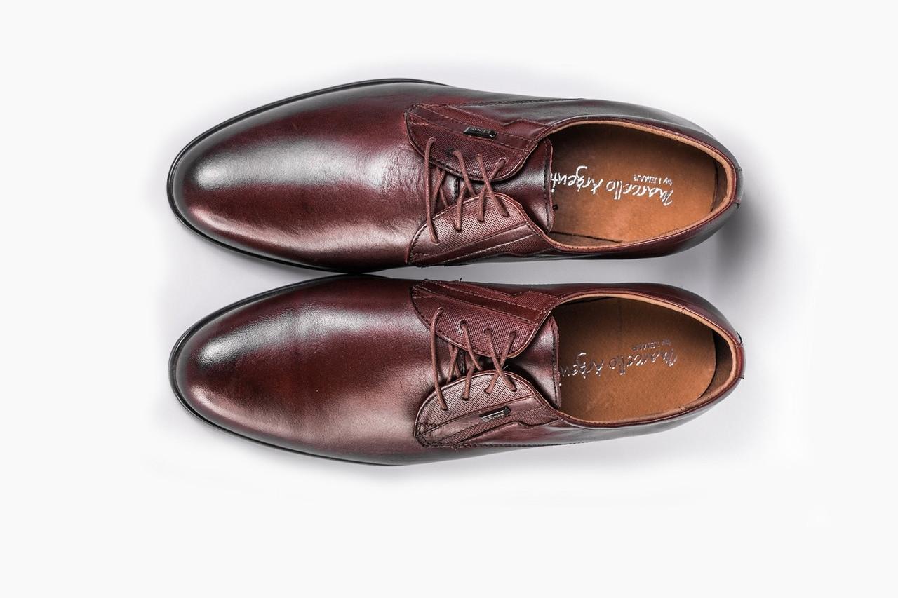 Польские туфли коричневые Lemar