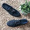 Броги замшевые, черные., фото 3