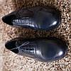 Туфли броги ІКОС 57  синие туфлі Ikos, фото 2
