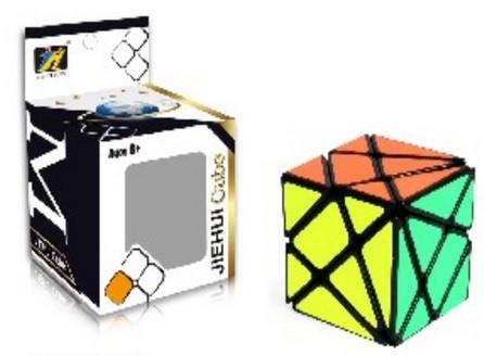 Кубик Рубика 560 логика в коробке 6*6*9см. pro