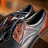 Сині туфлі польського виробництва Pan, фото 2
