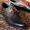 Сині туфлі польського виробництва Pan, фото 3