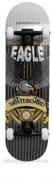 """Скейт деревянный, Скейтборд """"Eagle """" Maraton  натуральный канадский клен дека 79х20 см, отличное качество"""