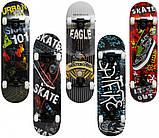 """Скейт деревянный, Скейтборд """"Eagle """" Maraton  натуральный канадский клен дека 79х20 см, отличное качество, фото 3"""