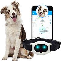GPS ошейник для собак MYOX MPT-47DW (белый)