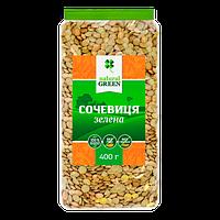 Чечевица зеленая, Natural Green, 400 г