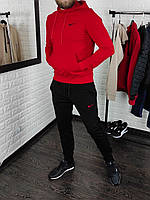 Мужской спортивный костюм Nike (Найк) весенний осенний | Комплект Кофта + Штаны трикотажный ЛЮКС качества