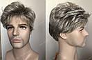 🤵♀️Мужской искусственный парик, короткий волос, фото 5