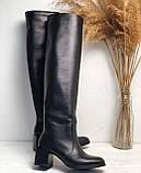 Женские сапоги из натуральной кожи Возможен отшив в других цветах кожи и замши, фото 3