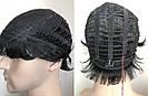 🤵♀️Мужской искусственный парик, короткий волос, фото 7