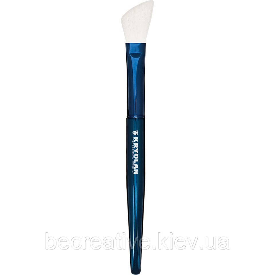 Кисть Blue Master Contoured Blusher  для нанесения рассыпчатой и прессованной пудрі