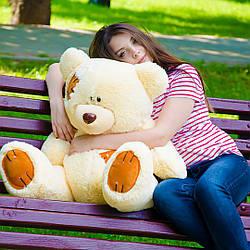Плюшевые медведи: Плюшевый медвежонок Потап 0,9 метра (90см), Персиковый