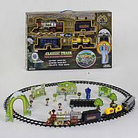 Железная дорога на р/у 155 (8) звуки, 23 эл., картонные декорации, в коробке