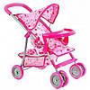 Коляска детская для кукол 9304 BWT/ 025 Melogo