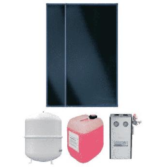 Пакетное предложение солнечные коллектора Vitosol + Divicom