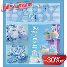 Фотоальбом EVG 20sheet Baby collage Blue w/box (UA) (6239793)