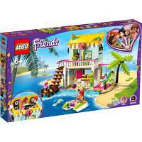 Конструктор ЛЕГО игры Friends Пляжный домик 444 детали (41428) LEGO
