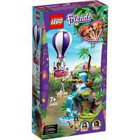 Конструктор ЛЕГО игры Friends Джунгли: спасение тигра на воздушном шаре 302 детали (41423) LEGO