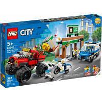 Конструктор ЛЕГО игры City Police Ограбление полицейского монстр-трака 362 детали (60245) LEGO