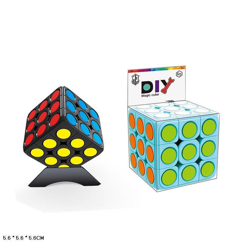 Кубик Рубика 379009 логика 3*3 для Спидкубинга, в коробке 6*6*6см